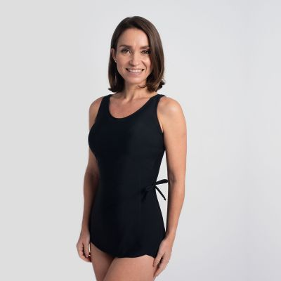 Solid Black Misses Sarong -  Style 1440