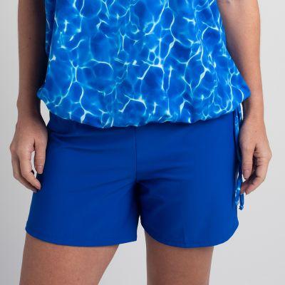 Royal Blue - Women's Shorts Style 1610