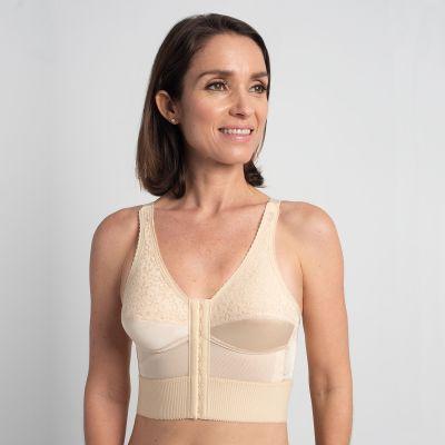 Choices Plus Mastectomy Bra Front & Back-Hook Adjustment - Style 1805