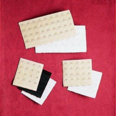 Jodee® Mastectomy Bra Extenders, 5 Hooks, Package of 4 - Style 12