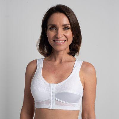 Comfort Plus Mastectomy Bra Front & Back Hook - Style 3301