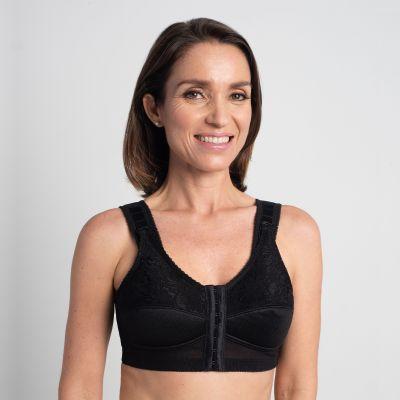 Comfort Plus Mastectomy Bra Front & Back Hook - Style 3316