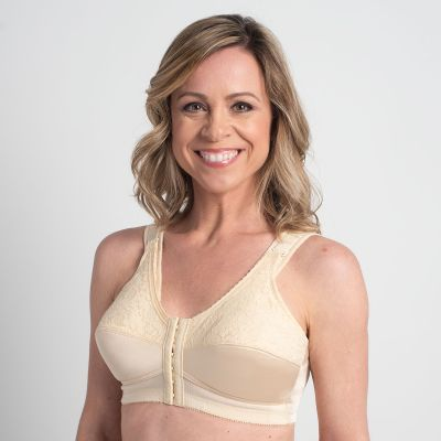 Comfort Plus Perma-Form® Bra Front & Back Hook - Style 3318